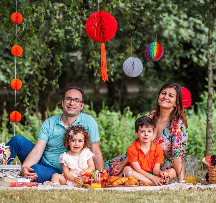 Piquenique com Família (Isabel & Luís)